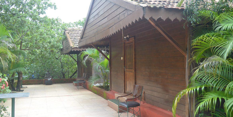 Sylvan Greens Resort, Dapoli - Wooden Chalet